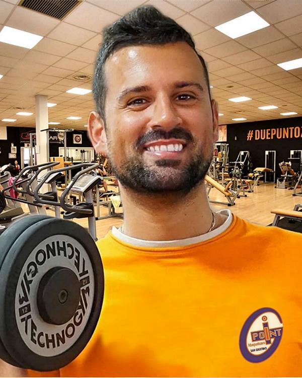 Leonardo proprietario palestra personal trainer professionista