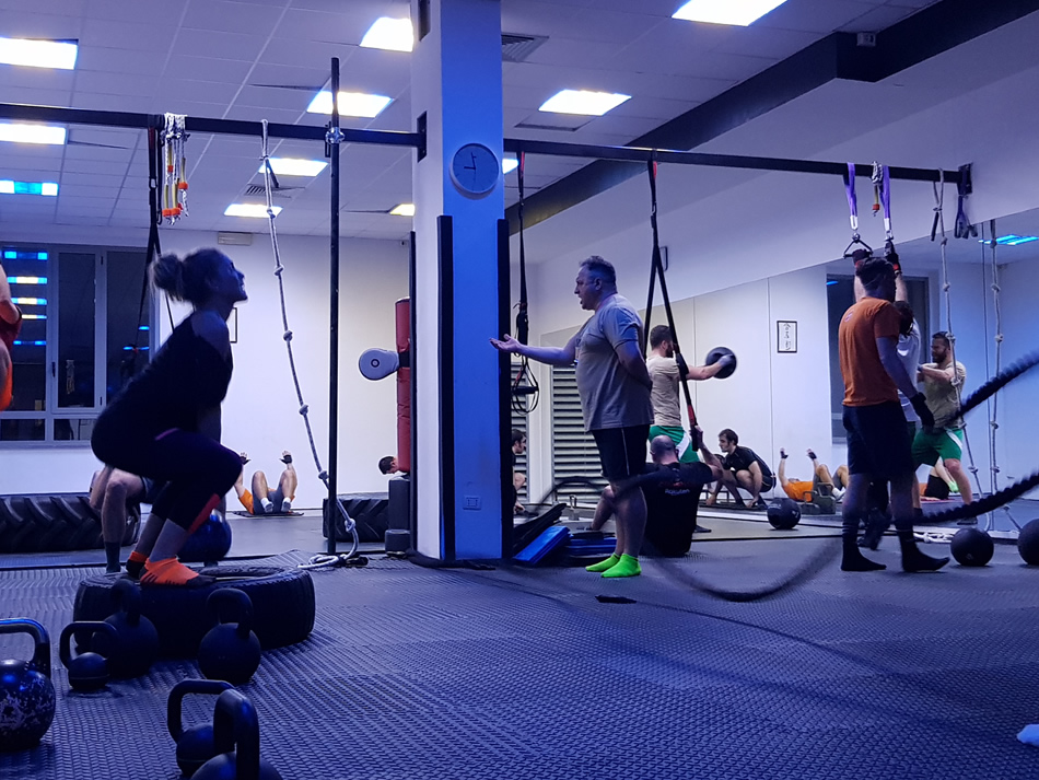 Lezione di gruppo Military Fitness - Palestra Gi Point