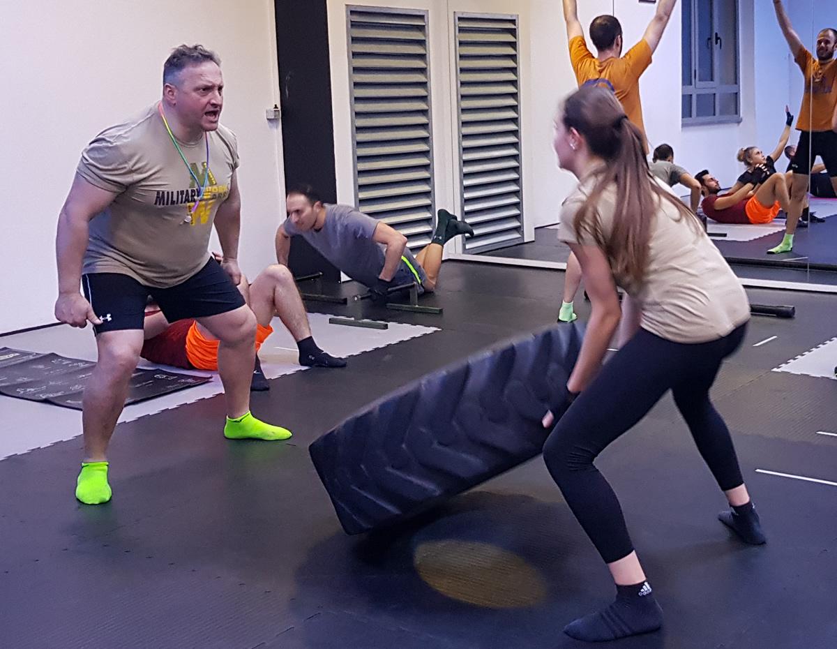 Corsi Professionali Military Fitness esercizi