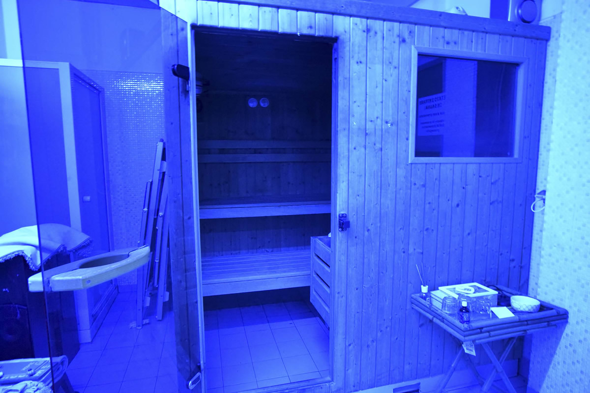 Sauna Palestra Gi Point