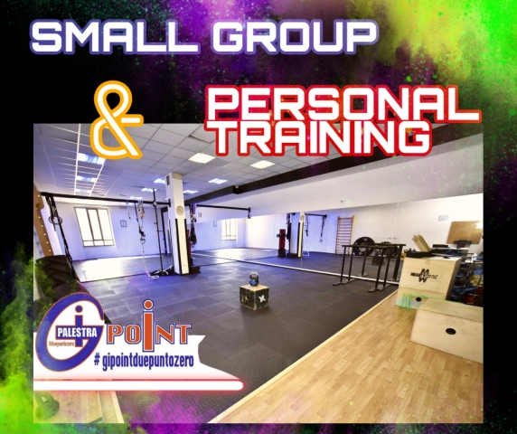 SMALL GROUP & PERSONAL TRAINING GIPOINT2.0